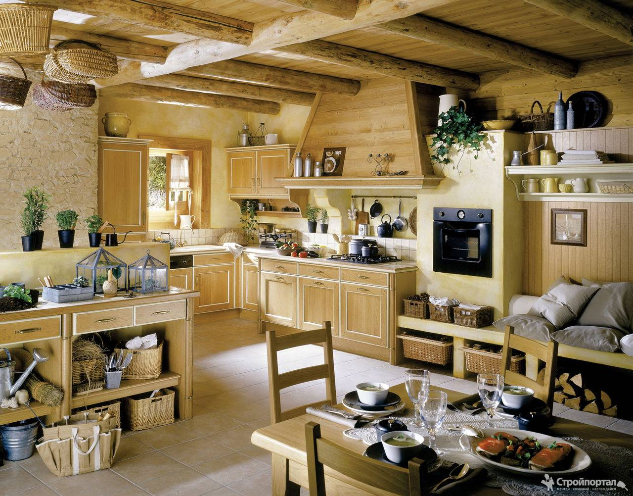 Vaulted Ceiling Kitchen Designs  Review Home Decor