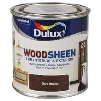 Лак морилка DARK WALNUT DULUX WOODSHEEN