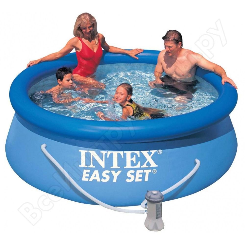 Бассейн intex easy set 244х76см 28112